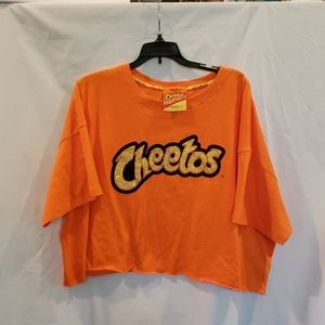 FOREVER 21 Plus CHEETOS Crop Top Flaming Hot 3X
